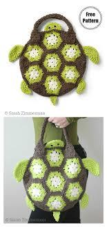 african flower motif bag free crochet