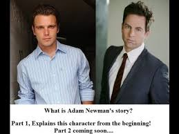 Adam Newman The Young and the Restless cast Michael Muhney Chris Engen The  Beginning Story Part 1 - YouTube
