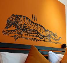 Thai Tiger Wall Sticker Tenstickers