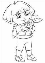 Tekeningen Printen Dora De Explorer152 Kleurplaten Tekenen Voor