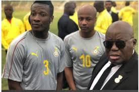 Prez Akufo-Addo Urges Asamoah Gyan To Rescind Retirement Decision ...