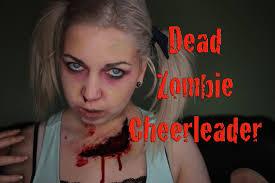 zombie cheerleader makeup saubhaya makeup