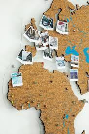 Cork Push Pin World Map Wall Art Map Cork Board Rustic Wall Etsy In 2020 World Map Wall Art World Map Decor Map Wall Decor