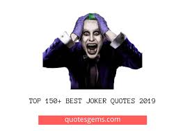 top best joker quotes why so serious