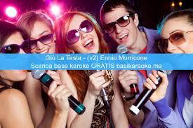 Giu la testa - (v2) Ennio Morricone base karaoke