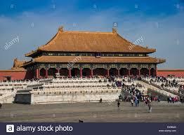 Palazzo imperiale, la Città Proibita di Pechino, Cina Foto stock - Alamy
