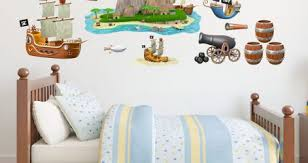 Ocean Wall Decals With Name Pirate Vinyl For Nursery Circo Design And Mermaid Themed Lego Boat Chalkboard Vamosrayos