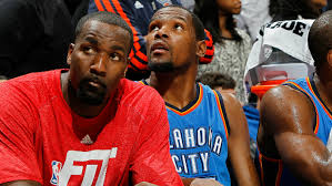 Kevin Durant makes fun of Kendrick Perkins' stats while defending decision  to join Warriors | KNBR-AF