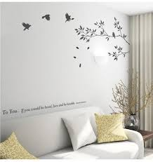 9057 New Tree Branch Black Bird Art Wall Stickers To You If You Would Be Loved Motivation Decals Removable Vinyl Floral Wall Decals Floral Wall Stickers From Fst1688 6 98 Dhgate Com