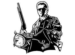 Terminator Schwarzenegger Size 5 3 4x6 3 4 Decal Sticker Custom Size Up To 23 Fashion Home Garden Homed Terminator Print Vinyl Stickers Boys Wall Decals