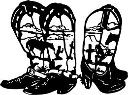 Cowboy Cowgirl Praying Boots Cross Car Truck Window Laptop Vinyl Decal Sticker For Sale Online