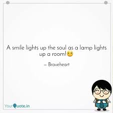 a smile lights up the sou quotes writings by smruti