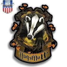 Hufflepuff Insignia Harry Potter Vinyl Sticker Decal Phone