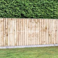Closedboard Fencing With Concrete Posts Diy Kit Uk Delivery