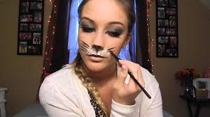 simple tiger makeup tutorial saubhaya