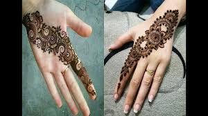 mehndi design dikhaye bridal