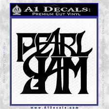Pearl Jam Rock Band Sq Decal Sticker A1 Decals