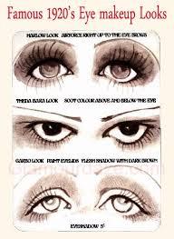 1920s eyes 1920s makeup vine