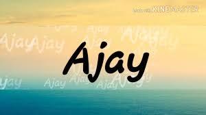 ajay name wallpaper you