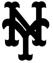 New York Mets Ny Logo Die Cut Vinyl Graphic Decal Sticker Mlb Baseball