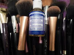 how i clean my brushes raia s world