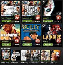 rockstar games les with up to 75