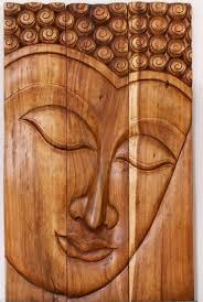 wall art designs best buddha wood wall