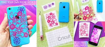 Make Iphone Decals With Cricut Plus Free Floral Iphone Wallpaper 100 Directions