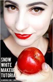 snow white halloween makeup tutorial