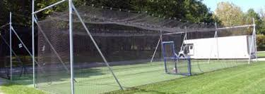 in ground batting cage frames cages