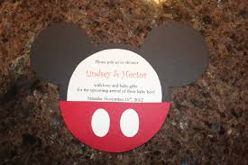 Invitacion De Mickey Mouse Creationsbydanny
