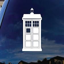 Doctor Police Box Car Window Vinyl Decal Sticker