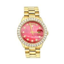 Gold Rolex Watch for Men with Diamond ...