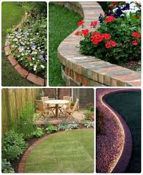 65 lawn flowers edging ideas to