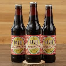 personalized beer bottle labels set of