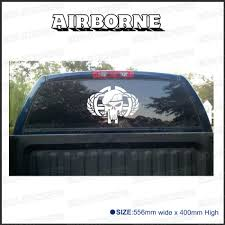 1 Piece Airborne Punisher For Truck Rear Window Or Badges Detailing Decals Car Scratch Protect Modified Accessories Stickers Punisher Decal Punisher Badgerear Window Aliexpress