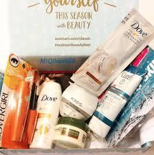 walmart beauty box winter 2016 my