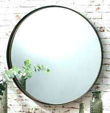 vanity mirror wall mount oval
