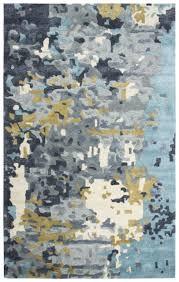mod wool cotton runner area rug 2 6 x 8