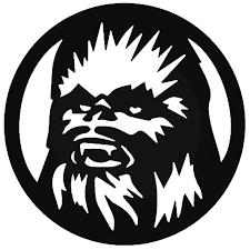 Star Wars Chewbacca Vinyl Decal Sticker