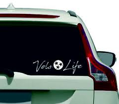 Vols Life Ut University Of Tennessee Window Decal Sticker Ebay