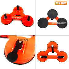 heavy duty abs 3 plates glass suction