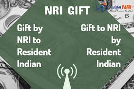 gift by nri to resident indian or vice