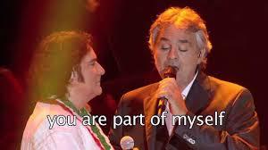 Più Su (Higher) - Renato Zero feat. Andrea Bocelli (sub english ...