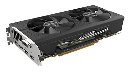 Image result for Sapphire 11265-05-20G Radeon Pulse RX 580 8GB GDDR5 Dual HDMI/DVI-D/Dual DP OC with Backplate (UEFI) PCI-E Graphics Card