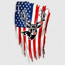 Archery Skull Hunting Sticker Whitetail Deer Decal For Sale Online Ebay