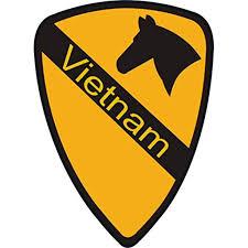Us Army 1st Cavalry Division Vietnam Patch Decal Sticker 5 5 Walmart Com Walmart Com