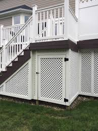 H M Landscaping Specializies In Landscape Design And Installation Deck Skirting Building A Deck Diy Deck