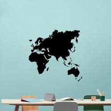 New World Map Vinyl Wall Sticker Wallstickers Removable Wallpaper For Living Room Bedroom Decor Decals Kids Room Decoration Kids Room Wall Stickers Kids Vinyl Wall Art From Onlinegame 11 94 Dhgate Com