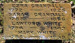 """Mary """"Polly"""" Fowler White (1785-1839) - Find A Grave Memorial"""